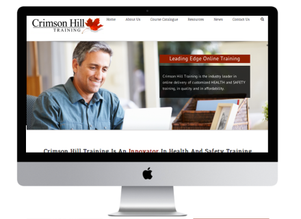 Crimson Hill Website - Windrose Web Design