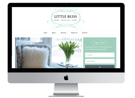 Windrose Web Design - Little Bliss