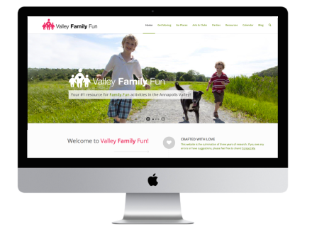 Windrose Web Design - Valley Family Fun