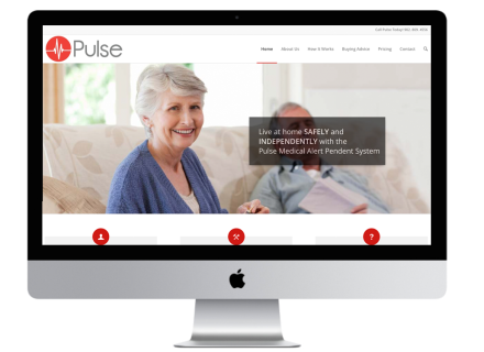 Windrose Web Design - Pulse Medical