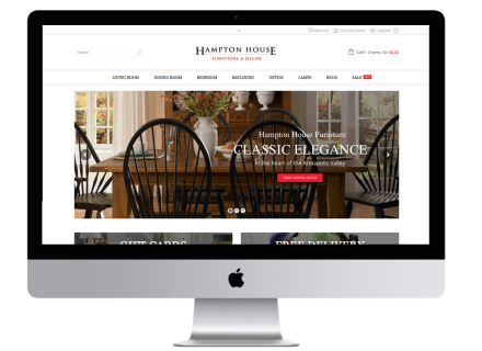 Windrose Web Design - Hampton House