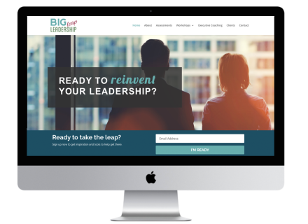 Windrose Web Design - Big Leap Leadership