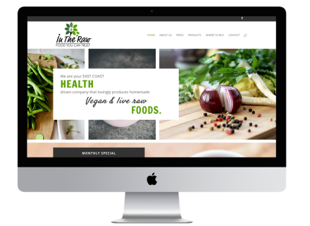 Windrose Web Design - In The Raw