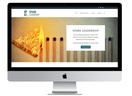 Windrose Web Design - Spark Leadership
