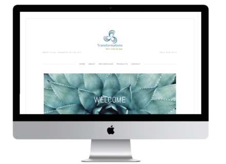 Windrose Web Design - Transformations Skin Care