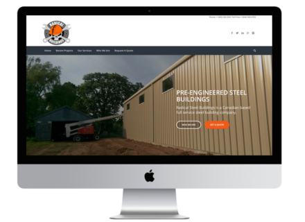 Windrose Web Design - Radial Buildings