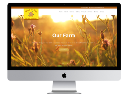 Windrose Web Design - WoodNHive